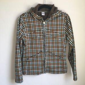 Burton Fleece lined Houndstooth Jacket